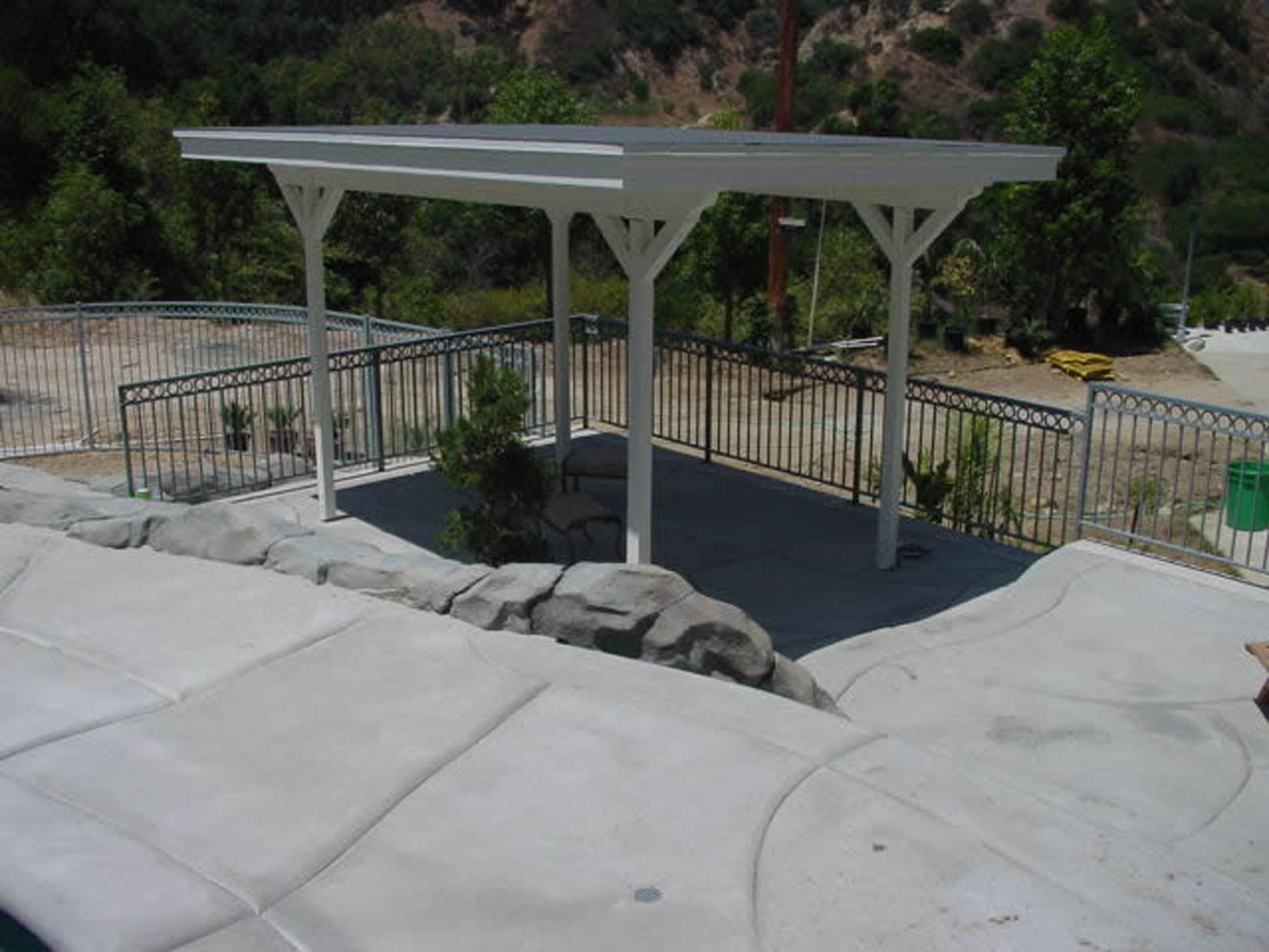 Patio covers how to build your own pool how to build for Build your own pool