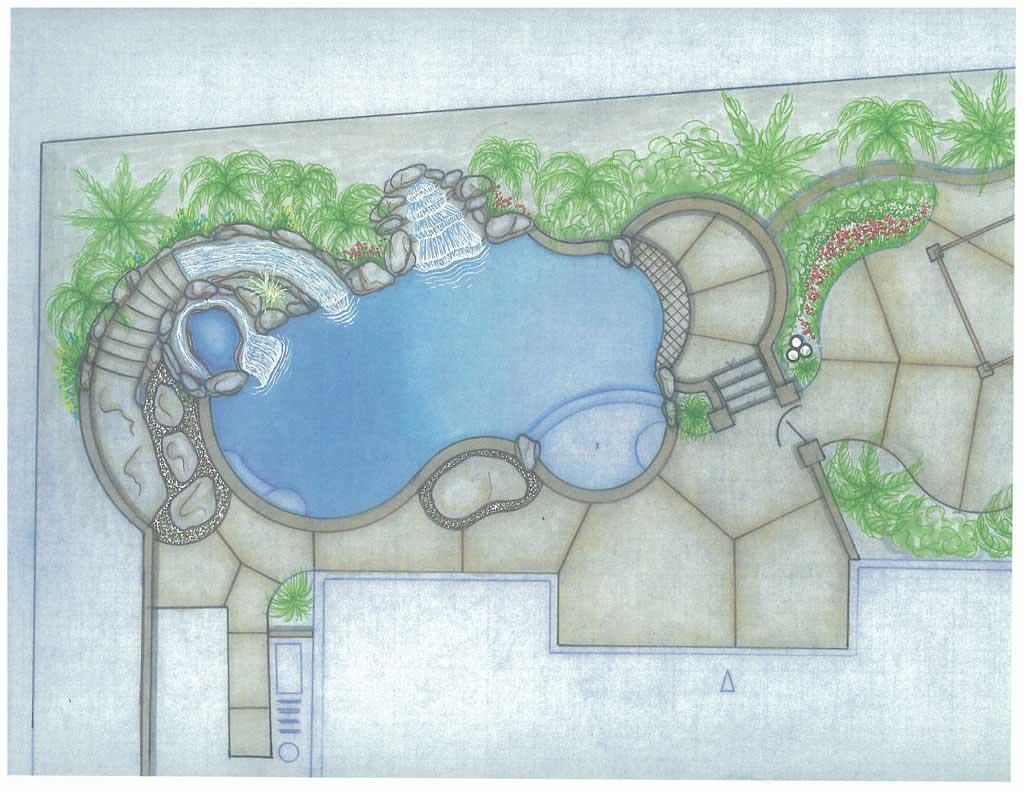 Pool Shape pool & spa shape #5 - how to build your own pool how to build your